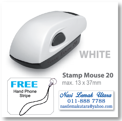 COLOP stamp Mouse 20 - White