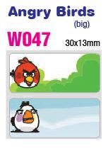 W047 ANGRY BIRDS (Big)