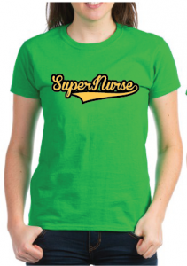 Super Nurse Tee 7- Green