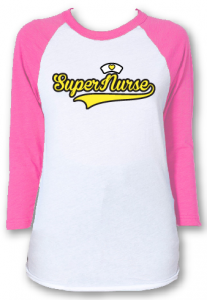 raglan tee for nurse