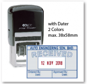 COLOP P55D/ 2 Colors (38x58mm)