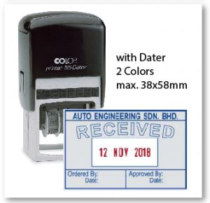 COLOP P55D/ 2 Colors (38x58mm)