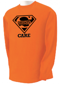 Super Nurse Care Tee 2 (Long Sleeve)