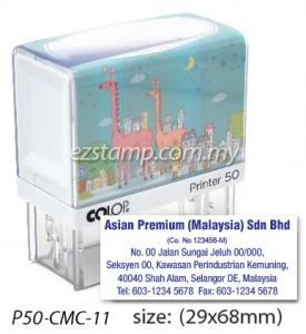 COLOP P50-CMC-11 (29x68mm)