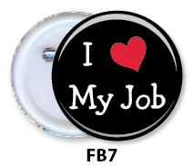 Nurse Button Badge - FB7