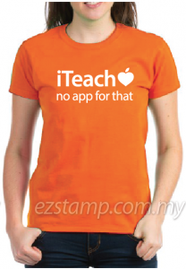 Teacher Tees - TT01 (Orange)