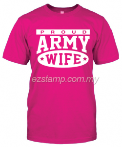 Army Wife SN16 (Unisex) - Pink