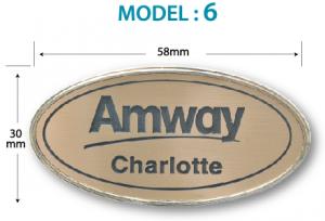 epoxy name tag