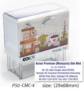 COLOP P50-CMC-4 (29x68mm)