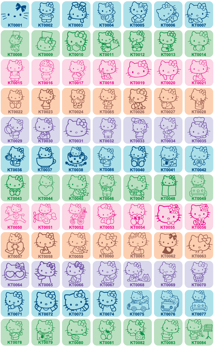 Hello Kitty & Friends Icons