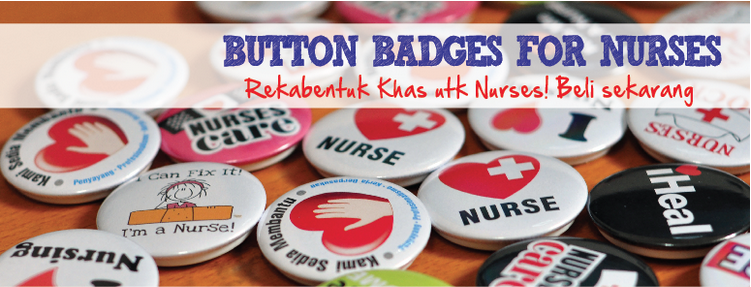 button badges for nurse