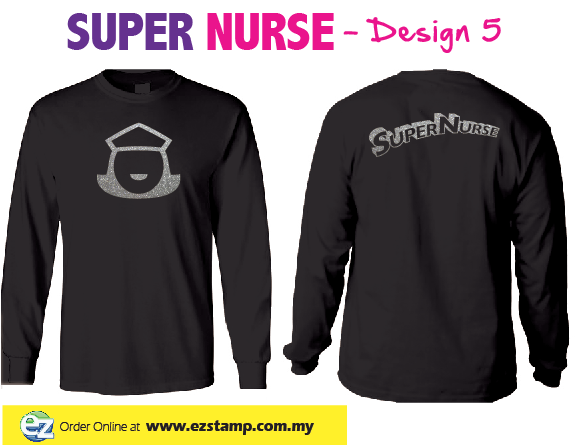 Super Nurse Tee 5 (Long Sleeve)