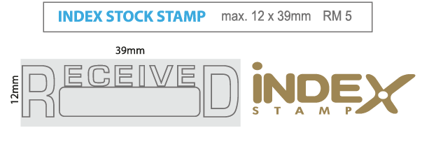 stock stamp