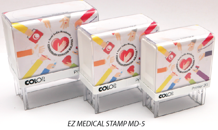 EZ MEDICAL STAMP