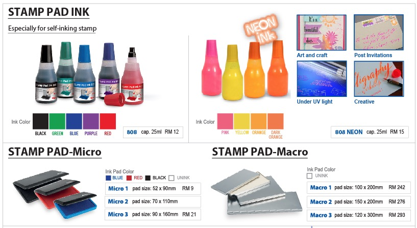 stamp ink pad