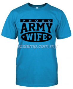 Army Wife SN16 (Unisex) - Blue