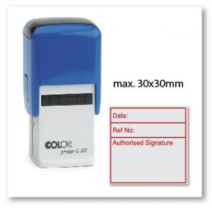 COLOP Q30 (30x30mm)