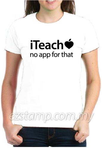 iteach teacher t-shirt
