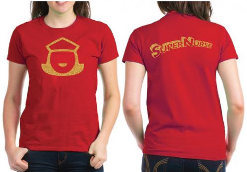 Super Nurse Tee design 5