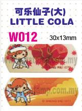 W012 可乐仙子(大) LITTLE COLA name sticker 姓名贴纸