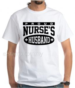 Nurses Husband SN14 (Unisex) - White