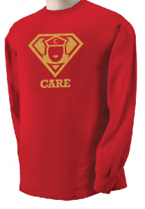 Super Nurse Care Tee 1 (Long Sleeve)