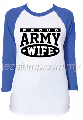 Proud. Army Wife T-shirt SN16