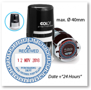 COLOP R40D/24H (Ø 40mm with Dater)
