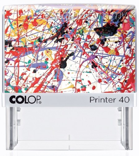 COLOP P40-ACTION PAINTING (29x68mm)