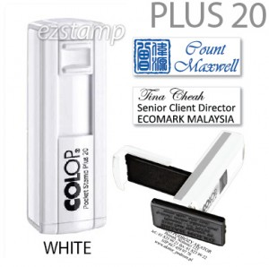 COLOP Pocket PLUS 20 - WHITE