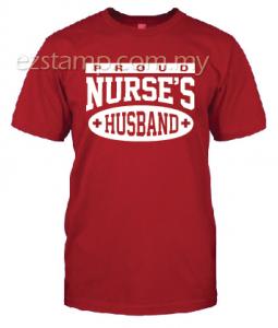 Nurses Husband SN14 (Unisex) - Red