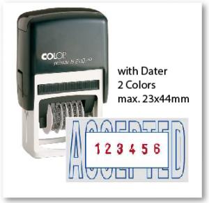 COLOP S226/P/ 2 Colors (23x44mm)