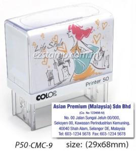 COLOP P50-CMC-9 (29x68mm)