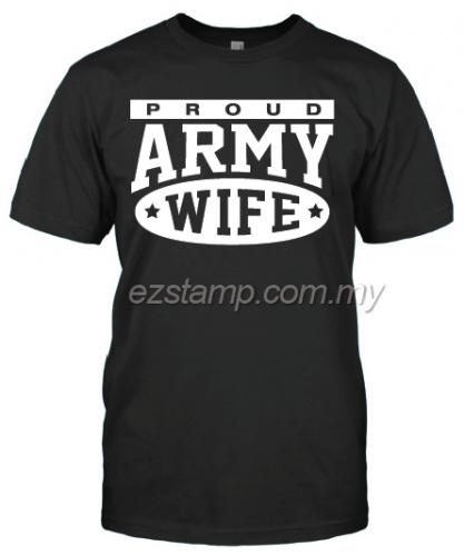 Army Wife SN16 (Unisex) - Black
