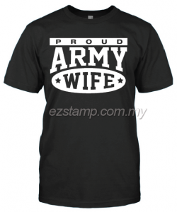 Army Wife SN16 (Unisex) - Black