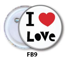 Nurse Button Badge - FB9