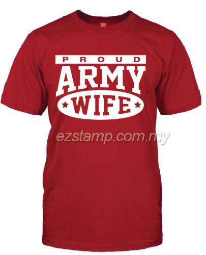 Army Wife SN16 (Unisex) - Red