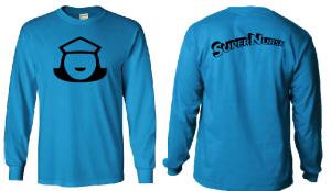 Super Nurse Tee 5 (Long Sleeve) - SEA BLUE (Bk)