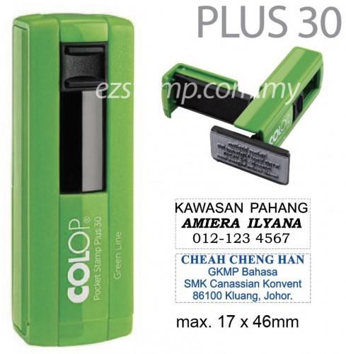 COLOP Pocket PLUS 30
