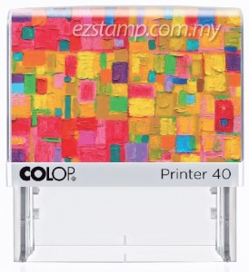COLOP P40-ABSTRACT (29x68mm)
