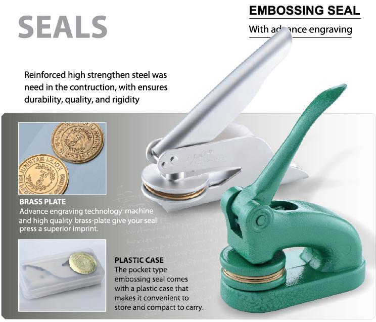 Embossing Seals