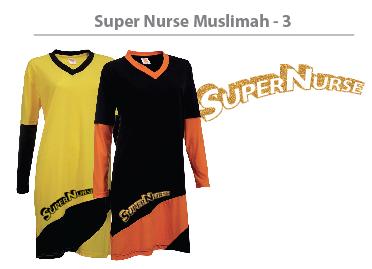super nurse muslimah tee