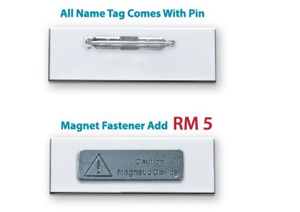 magnet name tag