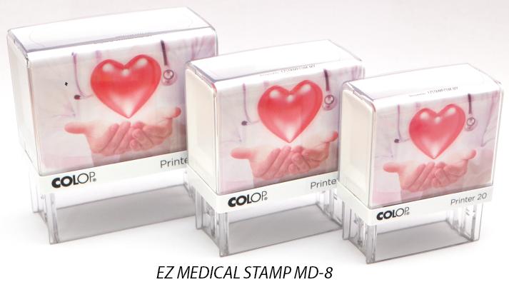 EZ MEDICAL STAMP