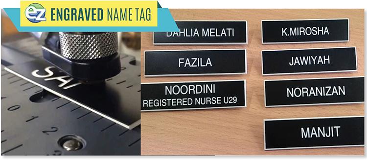 name tag ez stamp