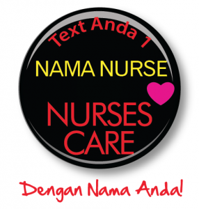 button badge for nurses with name