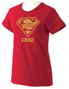 Super Nurse Care Tee 2- Red