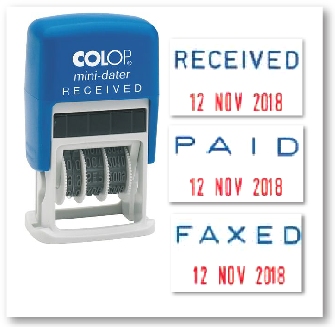 colop dater stamp