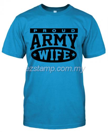 Army Wife SN16 (Unisex) - Blue