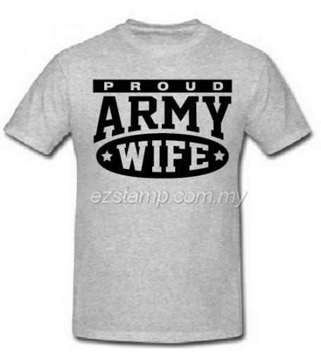 Army Wife SN16 (Unisex) - Grey